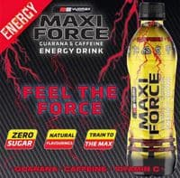 MAXI FORCE® ENERGY DRINK 12 x 500ML